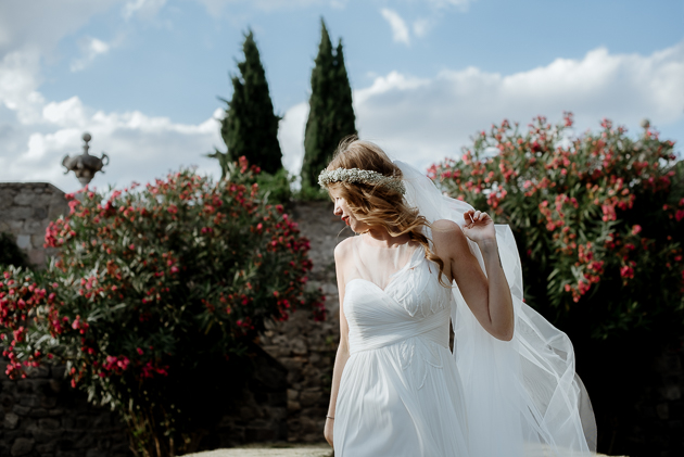 Destination Wedding Photo Reportage at Monselice Castle, Veneto, Italy